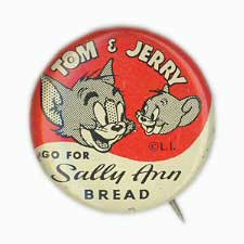Tom and Jerry Go For Sally Ann Bread. By Economy Novel Printing ca. 1950s
