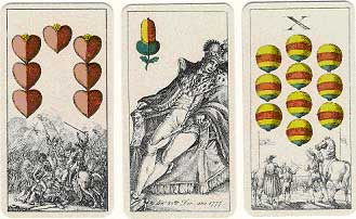 Fascimile deck issued in 1980 by F.X. Schmid of Munich