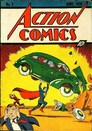 Action Comics #1 - 1938