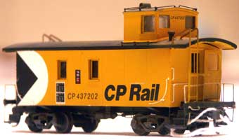 2007 National Convention Contest Winner, Roger Moses: CP caboose