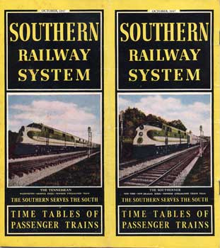 Southern Railway System timetable