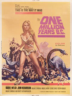 One Million Years B.C. - 1966, Poster nationality: U.S.