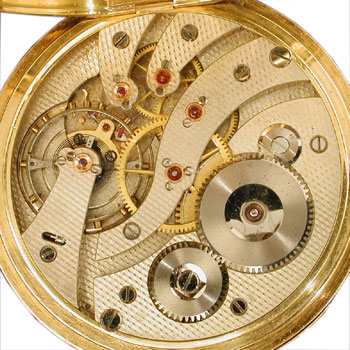 The McIntyre Watch Co. 12 size pocket watch movement
