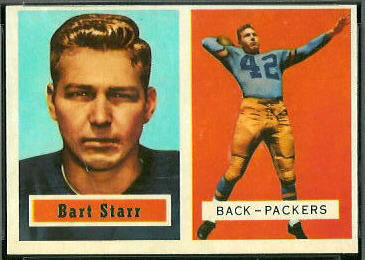 1957 Topps #119 Bart Starr, Green Bay Packers