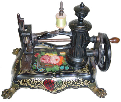 Antique Sewing Machine Collector Harry Berzack On Singers And Adorable Antique Sewing Machine Museum