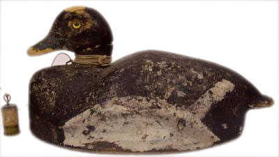 Vintage Wooden Duck Decoy