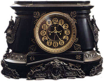 Pompeii by Ansonia Clock Co., New York, NY ca. 1880 - 1900s