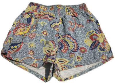 Vintage 50s Novelty Print Revere Swim Trunks