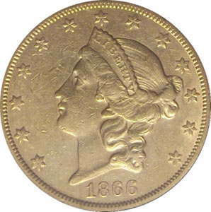 California Gold Token 1861 Quarter Dollar