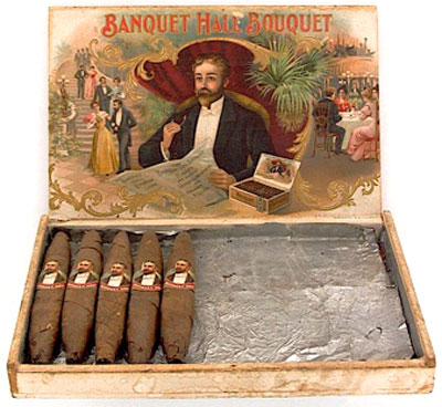Cigars by M. Foster & Co. in Fact. 8, 3rd Dist. NY located at 1059 3rd Ave.