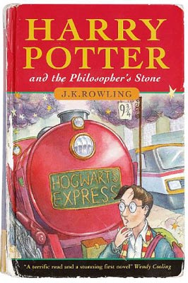 "The first edition of J. K. Rowling's first novel was published in England in 1997 as ""Harry Potter and the Philosopher's Stone."" The U.S. edition appeared a year later as ""Harry Potter and the Sorcerer's Stone."""