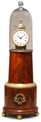Very fine and rare Lighthouse clock by Simon Willard, circa 1825.