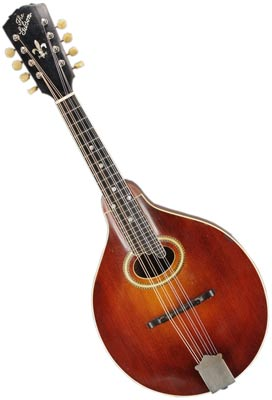 In the first half of the 20th century, Gibson mandolins dominated the market. This sunburst A4 model is from 1919.