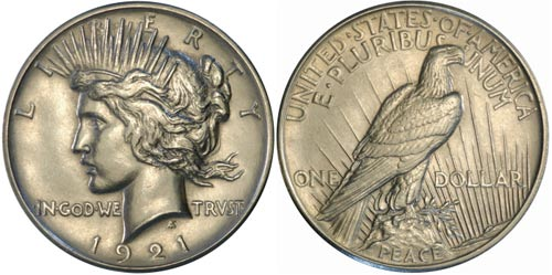 Controversial Coin The Peace Dollar Collectors Weekly