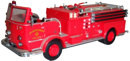 Code 3 model fire trucks, such as this Crown, are prized for their realism and attention to detail.