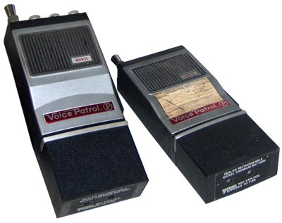 In the 1970s and '80s, walkie-talkies like these were widely used to communicate during emergencies.