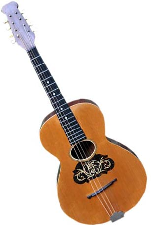 This Howe-Orme cello mandola, #294, is from around 1891.