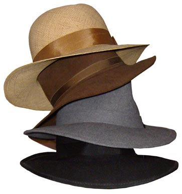 7a8b62c2 Fedoras can be made out of felt or straw, and come in a range of styles and  colors.