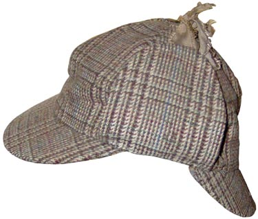 aec4520b448 Sir Arthur Conan Doyle did not dress his Sherlock Holmes character in a  deerstalker hat
