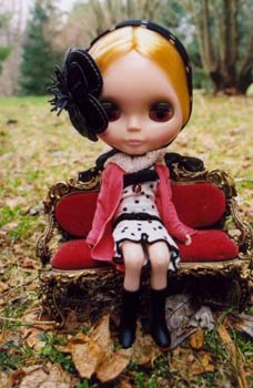 Blythe in the park.