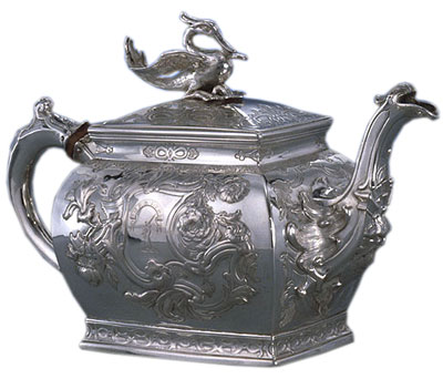 Teapot, 1759-1760