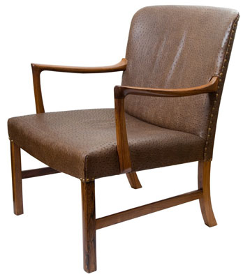 I think this is an Ole Wanscher chair by cabinetmaker AJ Iversen