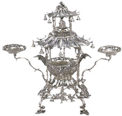 Epergne or Table Centerpiece, 1762-1763