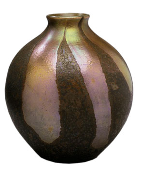 Cypriote glass vase