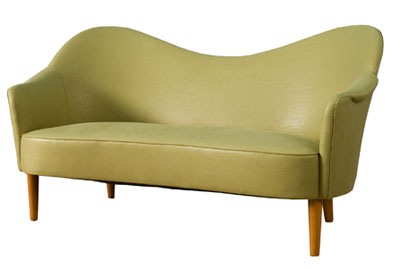 Camelback sofa by Carl Melmsten