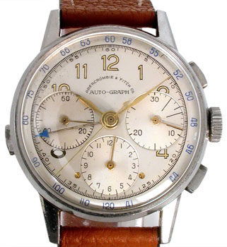 In the 1960s and '70s, Heuer made chronographs for U.S. retailers like Abercrombie & Fitch.