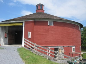 Round Barn at the Shelburne Museum