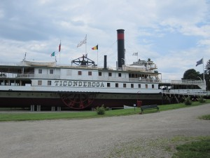 SS Ticonderoga at Shelburne Museum