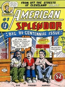 The debut issue of American Splendor, 1976.