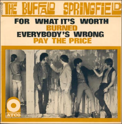 A beautiful and rare French EP by the Buffalo Springfield from 1967.