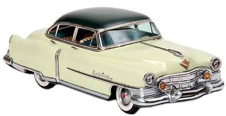 "The 1951 Marusan ""Series 62"" Cadillac featured an electric motor as well as electric head and tail lights."
