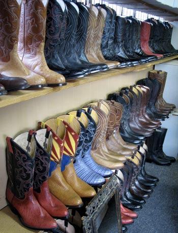 The Best Cowboy Boots In Texas Window Shopping With