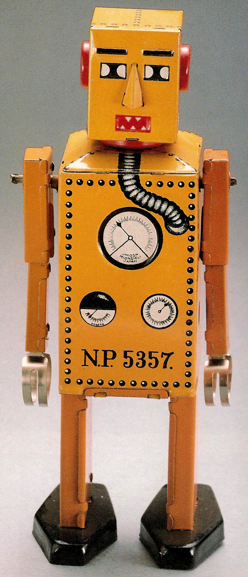 Lilliput was the first tin toy robot made in Japan.