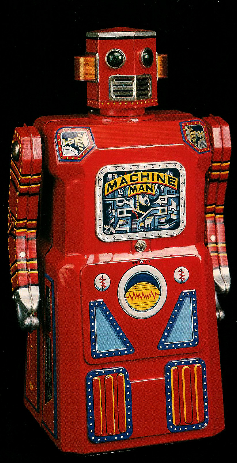 "Machine Man is considered one of the original so-called ""skirted"" robots."