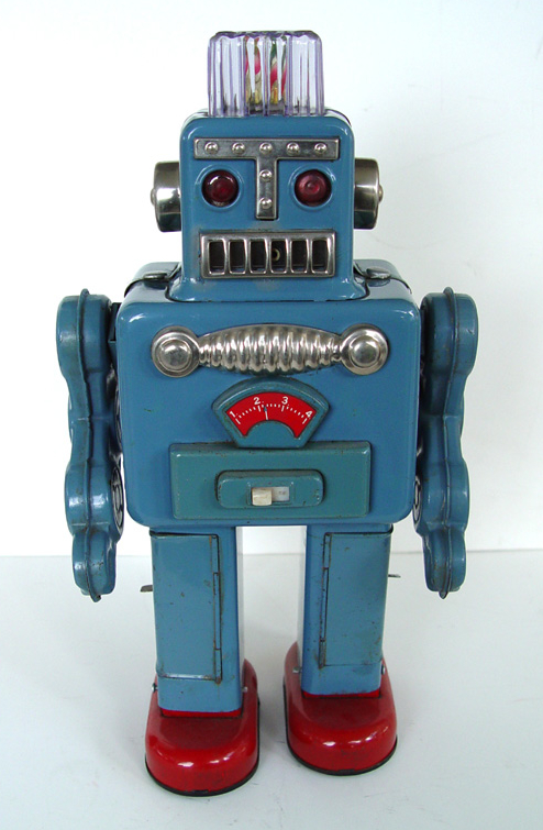 Retro Top Toys : Attack of the vintage toy robots justin pinchot on japan
