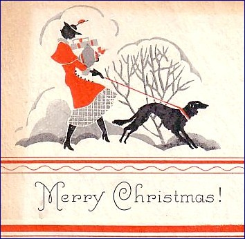 Dreaming of a Posh Christmas, in Postcards