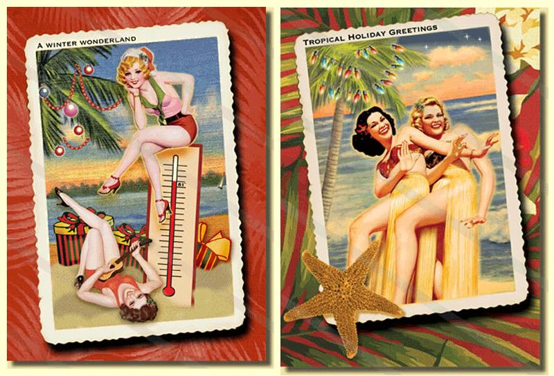 Images from RetroChristmasCardCompany.com