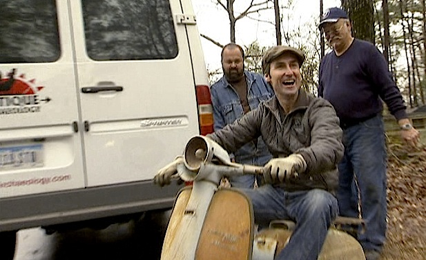 American Picker Dream Part Ii Mike Wolfe On Enduros And Land
