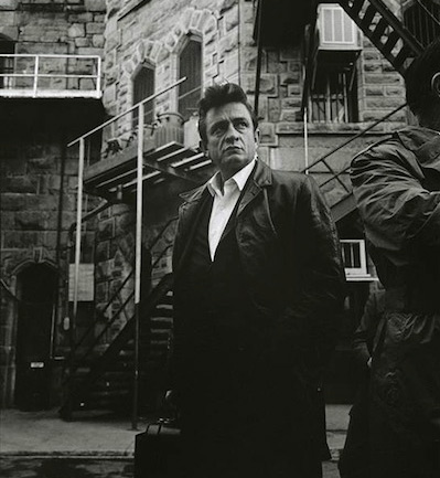 Johnny Cash at Folsom Prison, January 13, 1968. Photo by Jim Marshall via San Francisco Art Exchange.