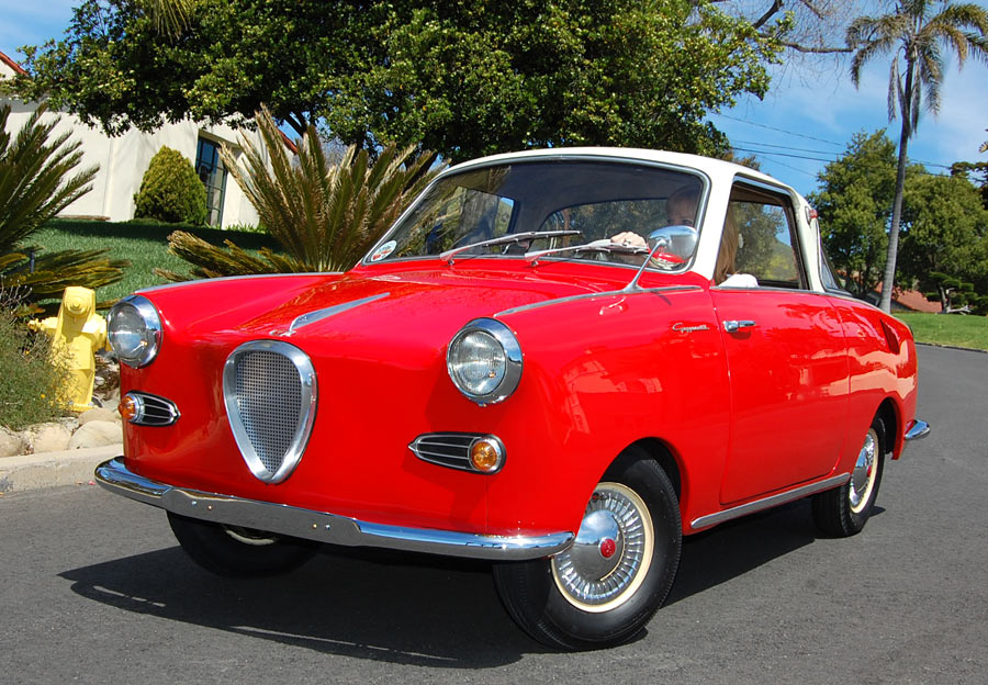 This 1959 Goggomobil Is Insanely Cute And Gets 55 Mpg Why