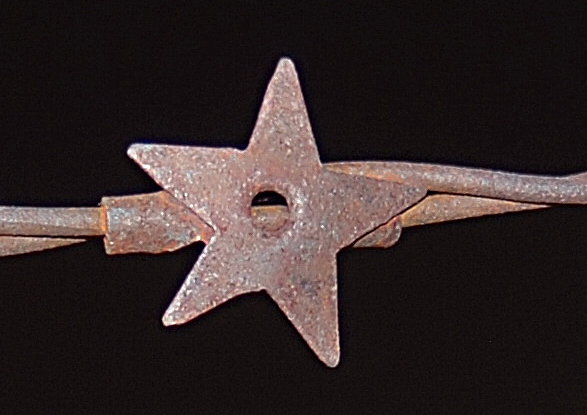 The Matoushek Two Strand Star Barbis an exact execution of the patent description. Photo by railman..