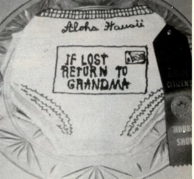 "A grandma's-bloomers cake featured in a 1974 issue of ""Mail Box News,"" via ""SF Weekly"""
