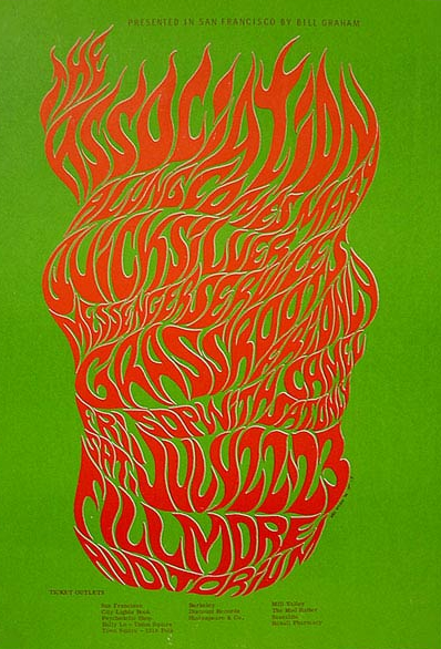 Between 1966 and 1967 San Francisco rock poster artist Wes Wilson designed posters and handbills for the first Trips Festival the last show by The Beatles ...  sc 1 st  Collectors Weekly & Psychedelic Poster Pioneer Wes Wilson on The Beatles Doors and ...