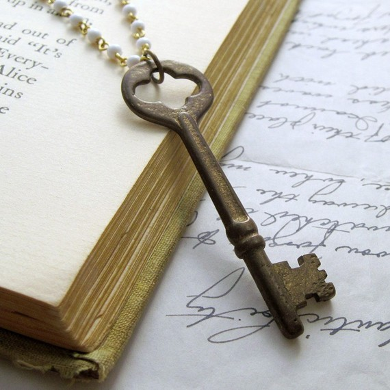 Unlocking The Riddle Of Skeleton Key Necklaces Collectors Weekly