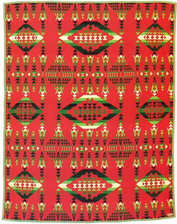 navajo designs patterns. A Pendleton Center Point Blanket From 1921. Via \ Navajo Designs Patterns