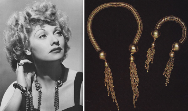 Lucille Ball wears a Joseff of Hollywood necklace and bracelet set. The company provided much  sc 1 st  Collectors Weekly : lucille ball costume for kids  - Germanpascual.Com